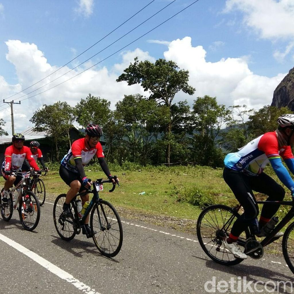 Ratusan Pesepeda Ikuti Makassar International Granfondo 2018