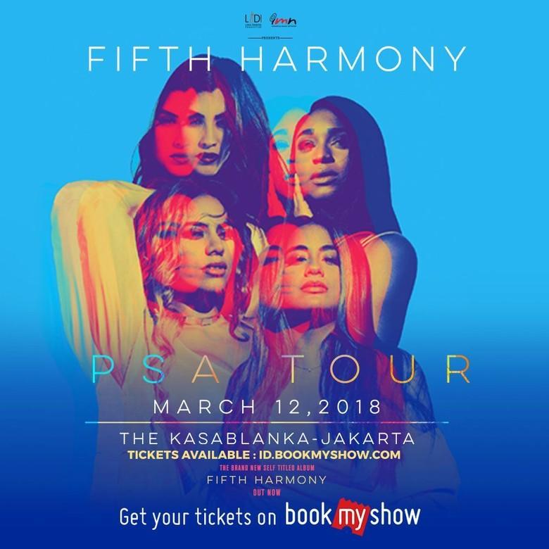 Konser Senin Malam, Fifth Harmony Tiba di Jakarta