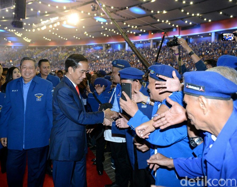 PDIP dan PD Memanas, Peluang Koalisi Dukung Jokowi Buyar?