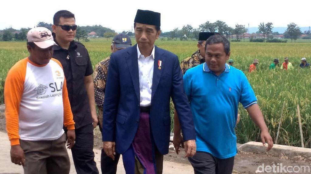 Bagi-Bagi Sertifikat Tanah, Jokowi: Digadai Tidak Apa-Apa
