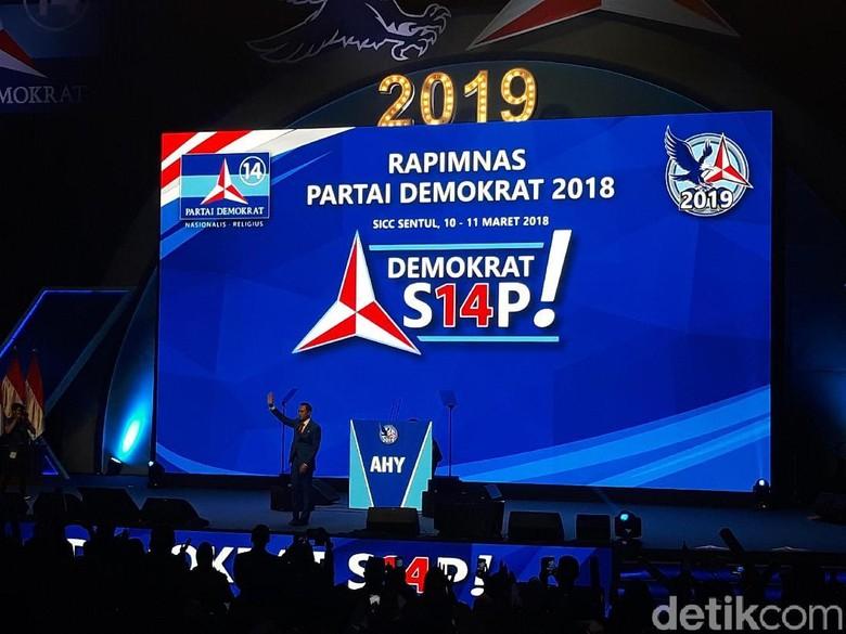 AHY: Jika Masuk Pemerintahan, PD Siap Terlibat untuk RI Lebih Baik