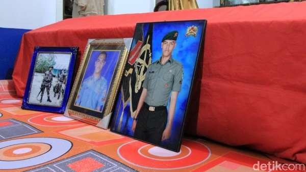 Pratu Randi Gugur, Paman: Dia Benar-benar Ingin Jadi Tentara