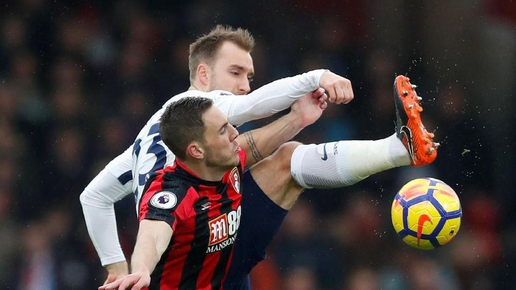 Kane Cedera, Spurs Sementara Tertahan di Markas Bournemouth