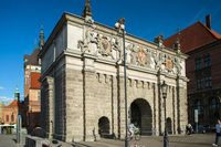 Upland Gate yang terkenal di Gdansk (Visit Gdansk/Facebook)