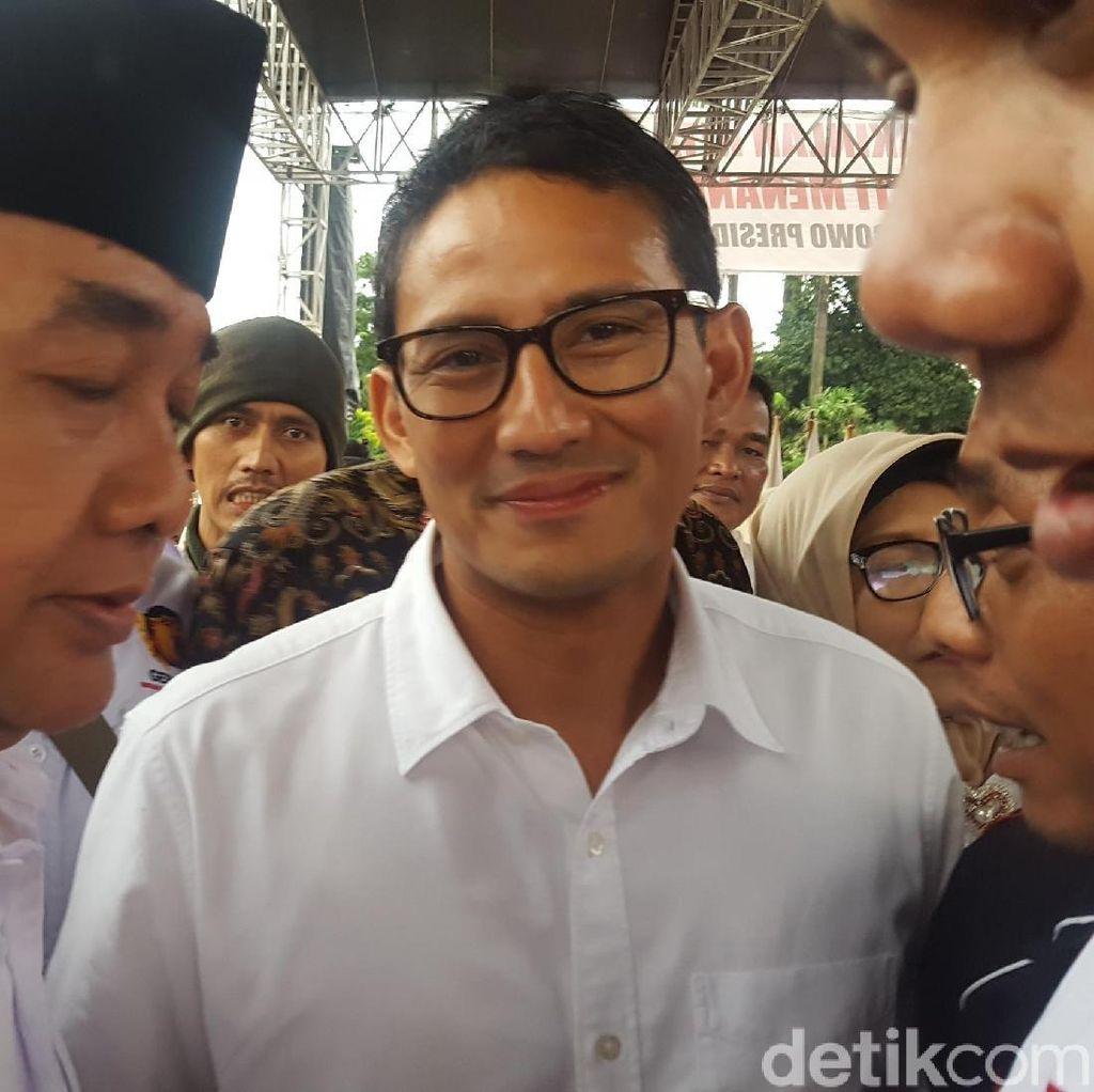 Sandiaga Ungkap Isi Pertemuan dengan Ketum PPP
