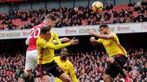 Arsenal Sementara Unggul 1-0 atas Watford