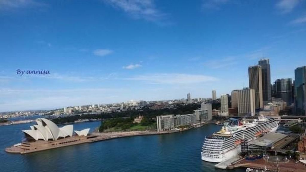 Menikmati Indahnya Kota Sydney dari Ketinggian