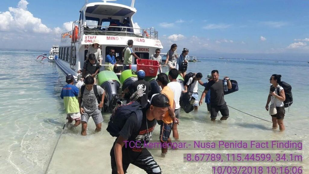 Terkait Isu Sampah di Laut, Aktivitas Wisata di Nusa Penida Masih Normal