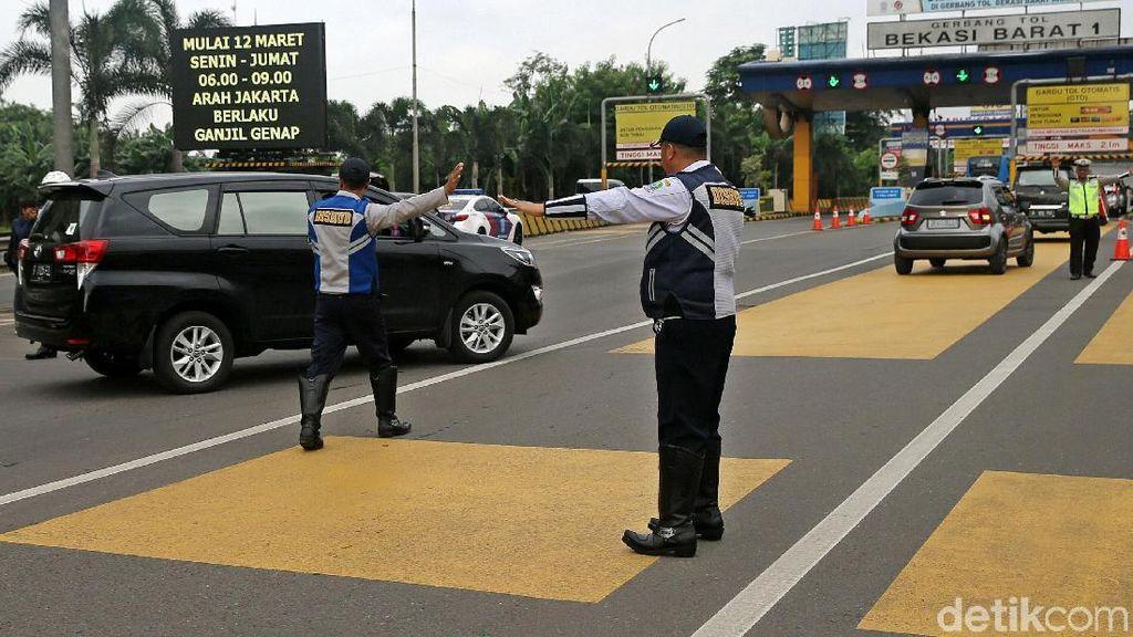 Sepekan Ganjil Genap di Tol Bekasi, Bagaimana Hasilnya?