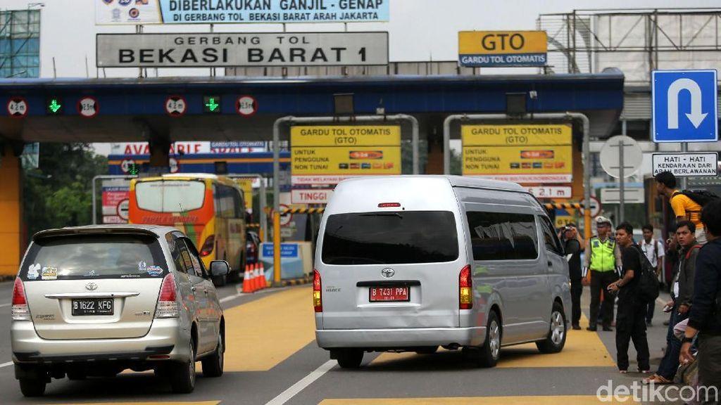 Ganjil Genap di Tol Bekasi, Menhub: Biar Nanti Pada Naik LRT