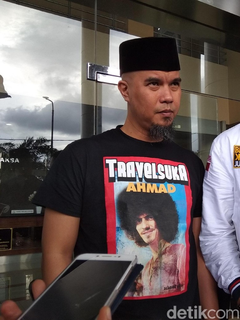 Ahmad Dhani: Capres Saya Masih Prabowo