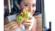 Pilih Jadi Vegetarian, Sophie Navita Sering Pamer Makanan Enak di Instagram