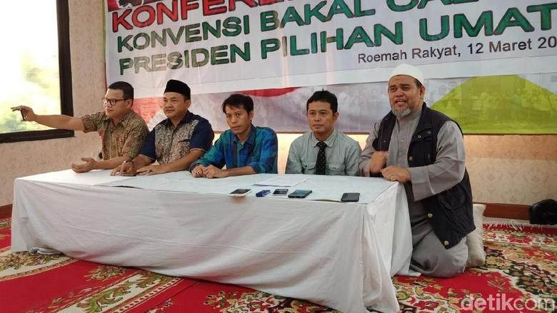 Foto: Presidium 212 Ungkap Rencana Konvensi Cari Lawan Jokowi