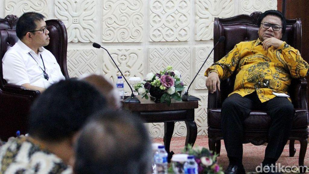 Ketua DPD dan Freeport Bahas Karyawan yang Dirumahkan