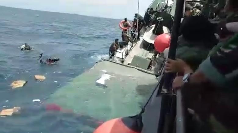Begini Kepanikan Saat Kapal TNI Tenggelam di Kepulauan Seribu
