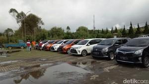 Touring Pembuktian Mobil Calya ke Dieng