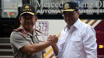 Kapolri dan Menhub Resmikan Penerapan Ganjil Genap di Tol Bekasi