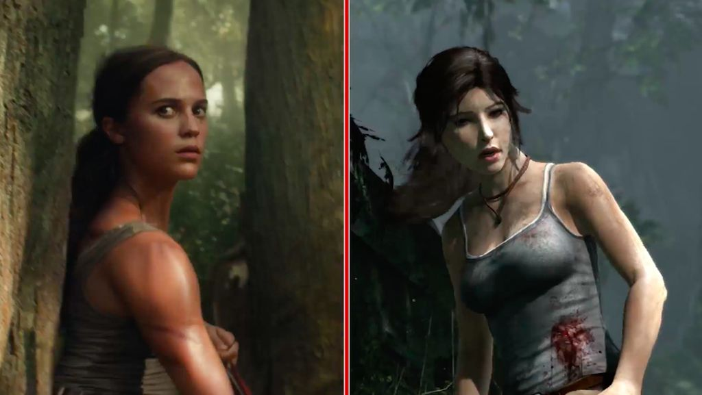 Perbandingan Adegan Tomb Raider di Film vs Video Game
