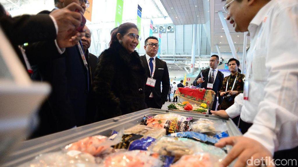 Booth Indonesia di Pameran Seafood Boston Letaknya Dekat Toilet?
