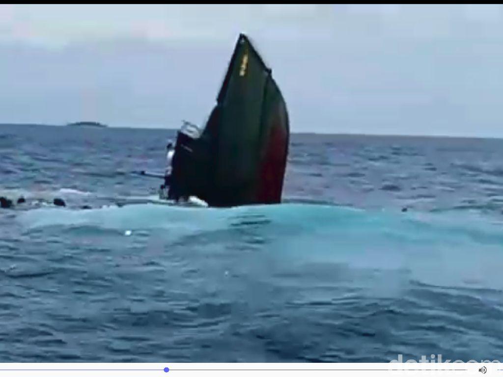 TNI: Kapal Tenggelam di Kepulauan Seribu karena Kebocoran Pipa