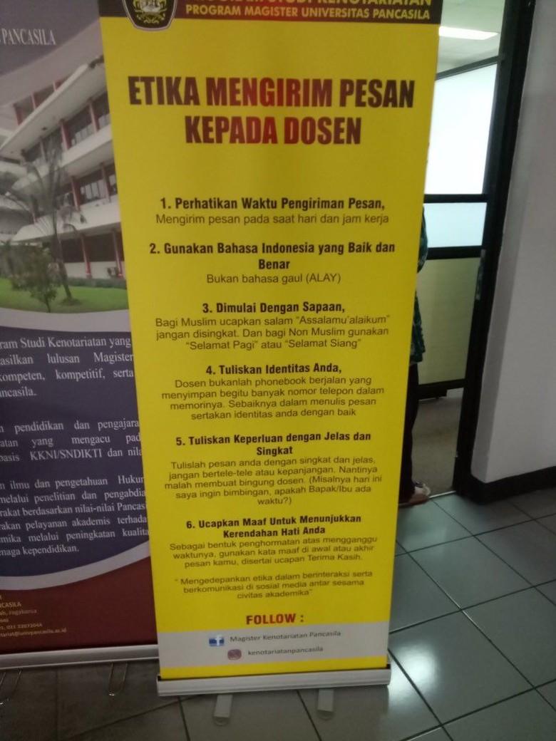 UP Juga Terapkan Etika Mahasiswa Kontak Dosen: Dilarang Bahasa Alay