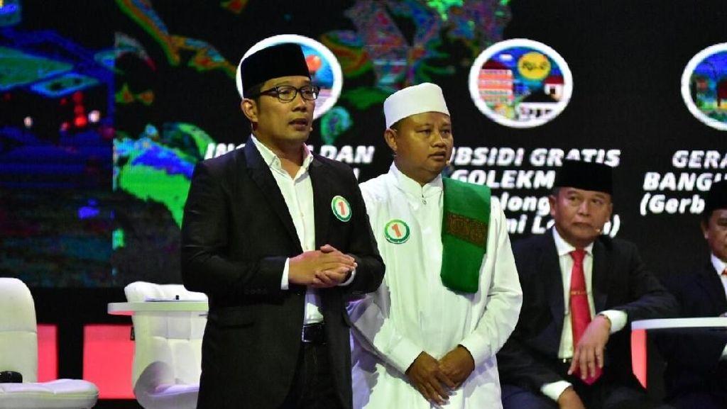 Optimisme Ridwan Kamil-Uu Puncaki Hasil Survei di Pilgub Jabar
