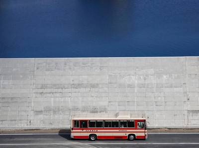 Foto: Dinding Raksasa Pemecah Tsunami di Jepang