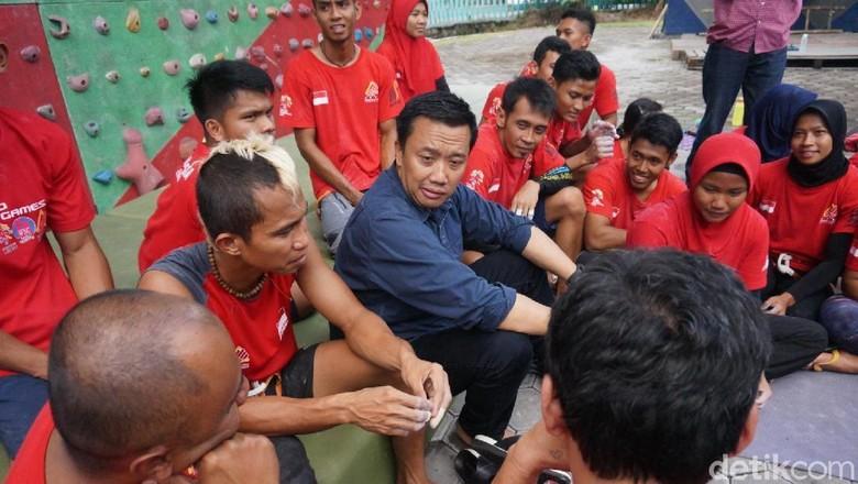 Menpora Optimistis Panjat Tebing Penuhi Target di Asian Games