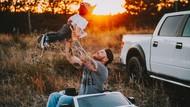Foto-foto Kekompakan Ayah dan Anak Ini Benar-benar Bikin Gemas