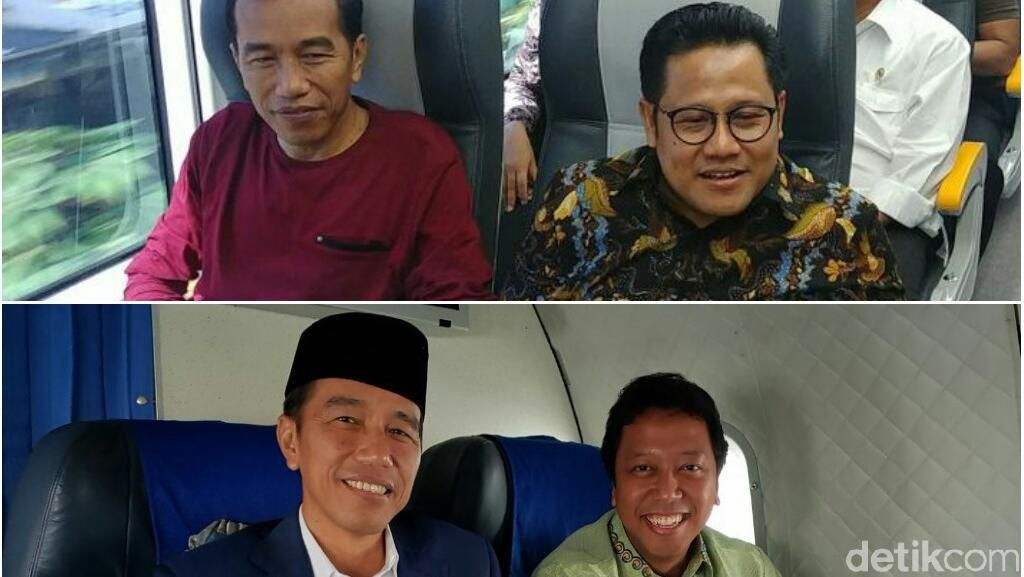 Saling Sahut PKB Vs PPP soal Selfie Bareng Jokowi