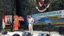 Di Acara Penggalangan Dana, Suara Sandiaga Dilelang Rp 45 juta