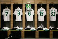 Ruang loker pemain Lechia Gdanks (Stadion Energa Gdansk)