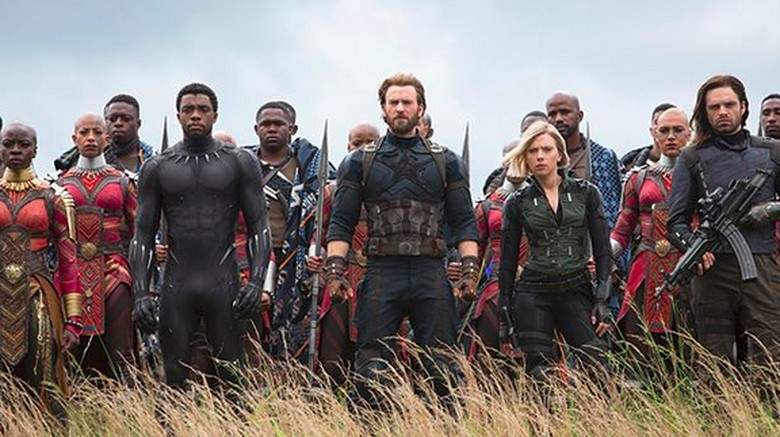 Beberapa Foto Behind the Scene Avengers: Infinity War