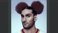 Heboh Gaya Rambut Baru Marouane Fellaini yang Mirip Mickey Mouse