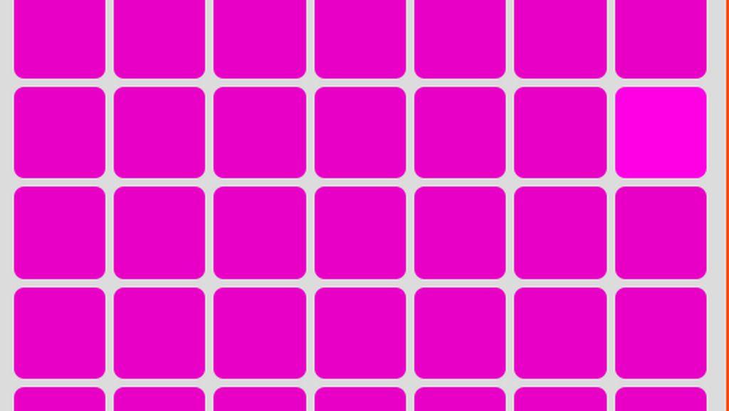 Tes Mata! Sulit Temukan Kotak dengan Warna Berbeda, Tandanya Kamu Lelah