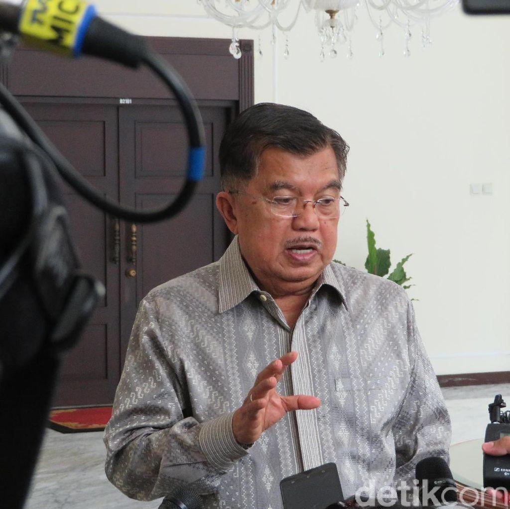 JK Soal Tim Seleksi Cawapres: Itu Urusan Jokowi