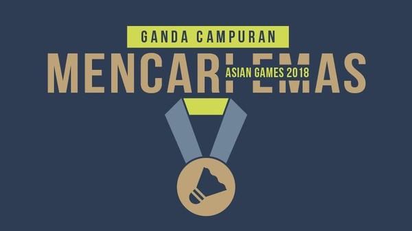 Ganda Campuran Mencari Emas Asian Games 2018