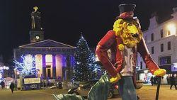 Patung Merlion di Singapura, Punya Saudara yang Gaul di Skotlandia