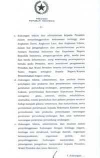 Bukan Urus Cawapres Jokowi, Ini Tugas Mensesneg