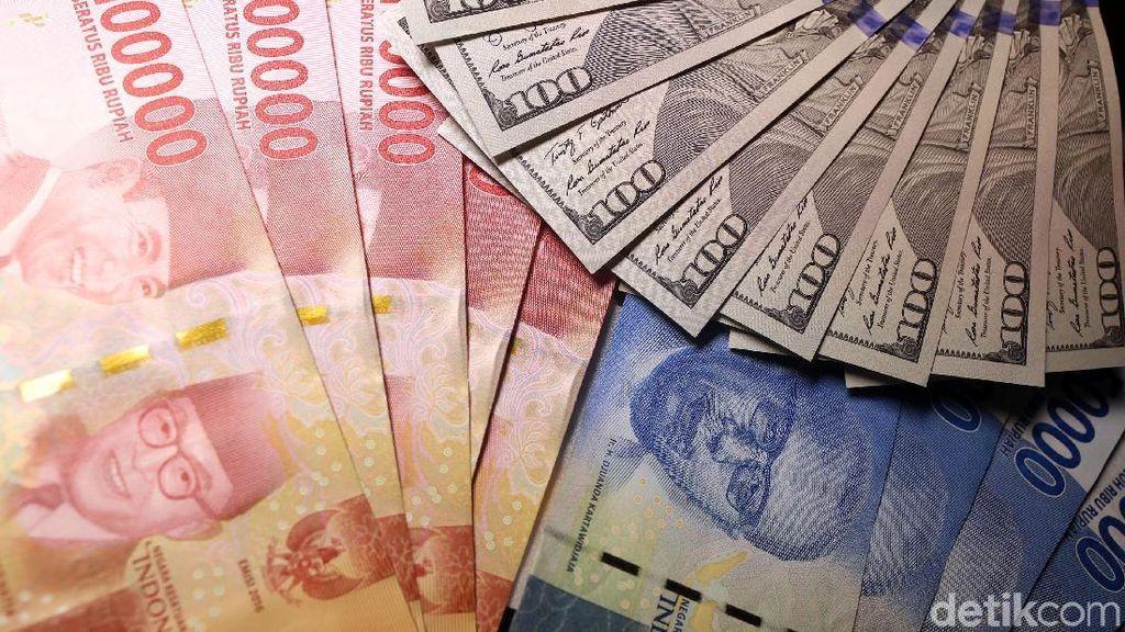 Money Changer Akui Nilai Tukar Dolar AS Berangsur Turun
