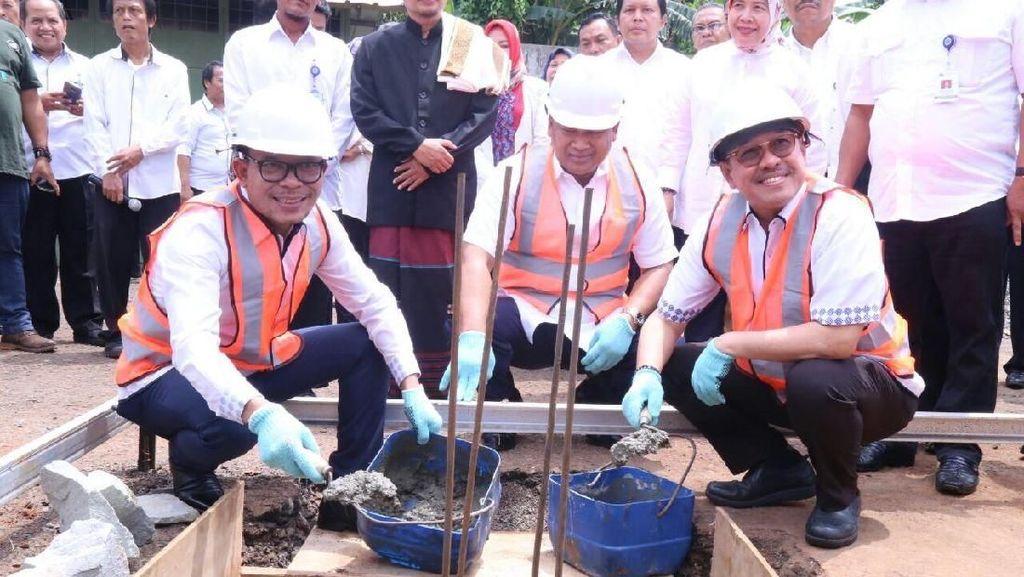 Harapan Menaker di Pembangunan Masjid Abdurrahman Wahid