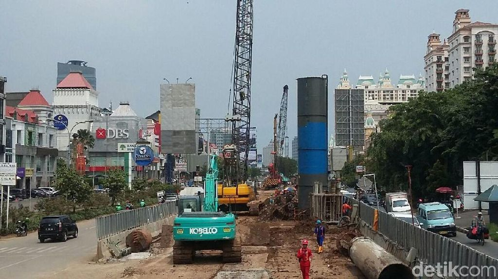 Sedang Dibangun, Begini Kondisi Proyek 6 Ruas Tol Dalam Kota DKI