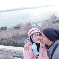 Bu Dendy dan suami di Topkapi Sarayi (ovieovienreal/Instagram)