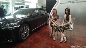 Miss Universe dan Puteri Indonesia Bikin Heboh Konsumen Mobil Mewah