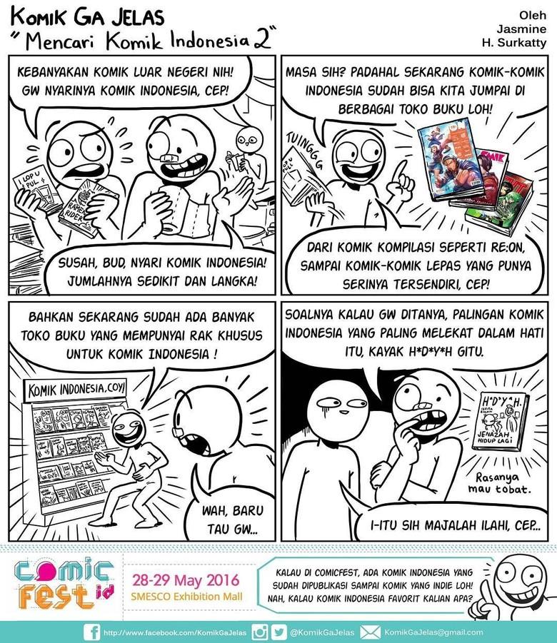 Ngehits, Komik Ga Jelas Bisa Dibaca Semua Umur