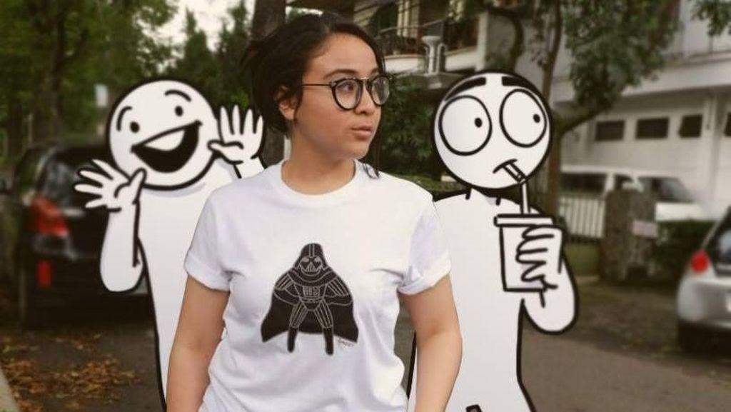 Kenalan Yuk dengan Komikus Ga Jelas Jasmine Hanny Surkatty