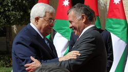 Presiden Palestina Bertemu Raja Yordania Bahas Yerusalem