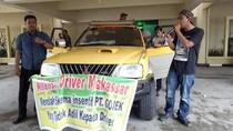 Ratusan Driver Go-Car Makassar Demo Tolak Insentif Murah