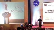Rapat Bareng PNS Kemenhub, Budi Karya Bahas Mudik dan Taksi Online