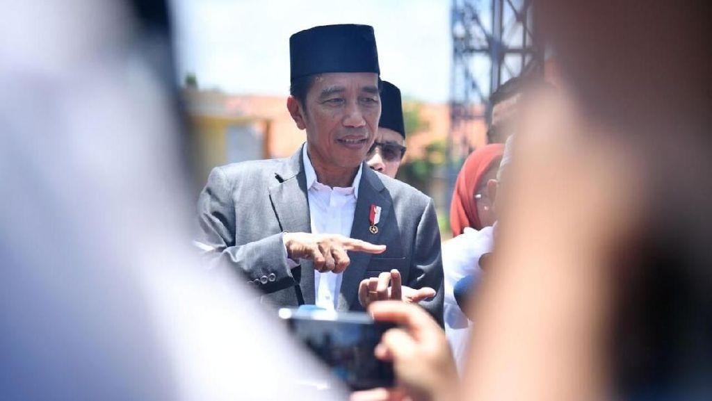 Potret Jokowi Bahas Pilpres dengan 5 Ketum Parpol